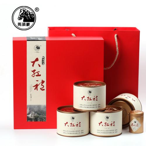 MATOUYAN Brand Hongyun Dangtou Da Hong Pao Fujian Wuyi Big Red Robe Oolong Tea 50g*4