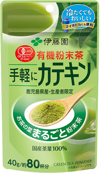 Ito En Itoen Organically Grown Easy Catechin Green Tea Powder 40g