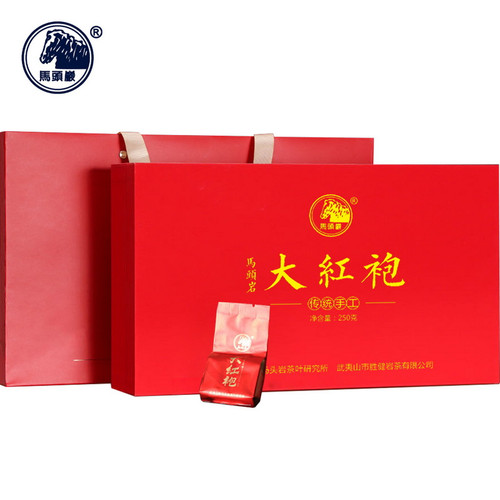 MATOUYAN Brand Nongxiang Premium Grade Da Hong Pao Fujian Wuyi Big Red Robe Oolong Tea 250g