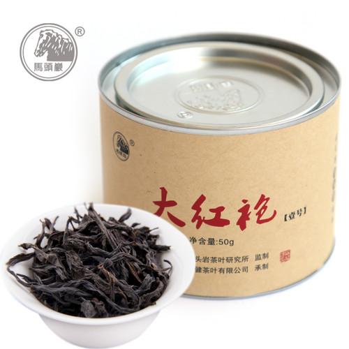 MATOUYAN Brand 1# Da Hong Pao Fujian Wuyi Big Red Robe Oolong Tea 50g