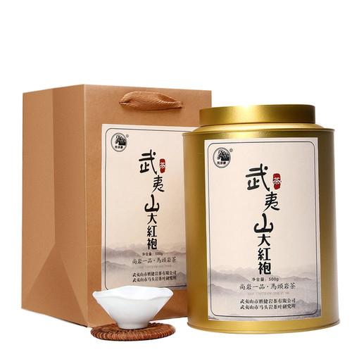 MATOUYAN Brand Wu Yi Shan Da Hong Pao Fujian Wuyi Big Red Robe Oolong Tea 500g