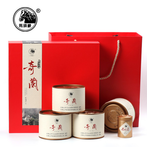 MATOUYAN Brand Hongyun Dangtou Qi Lan Rare Orchid Wuyi Rock Oolong Tea 50g*4