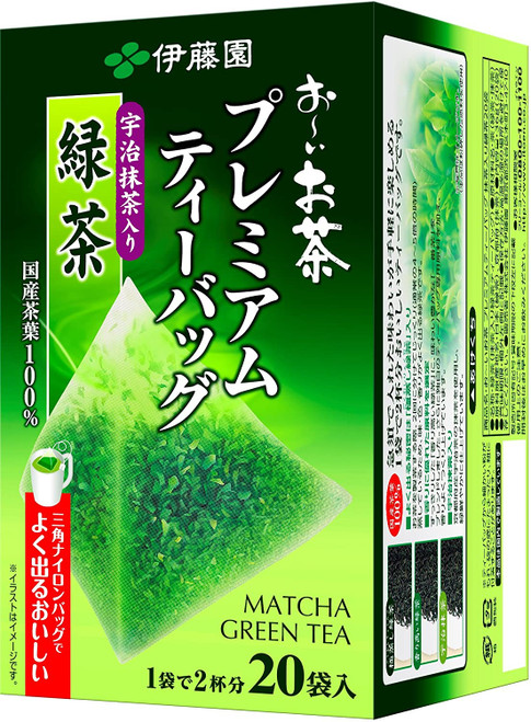Ito En Itoen Premium Green Tea Bag with Matcha 20 Tea Bags