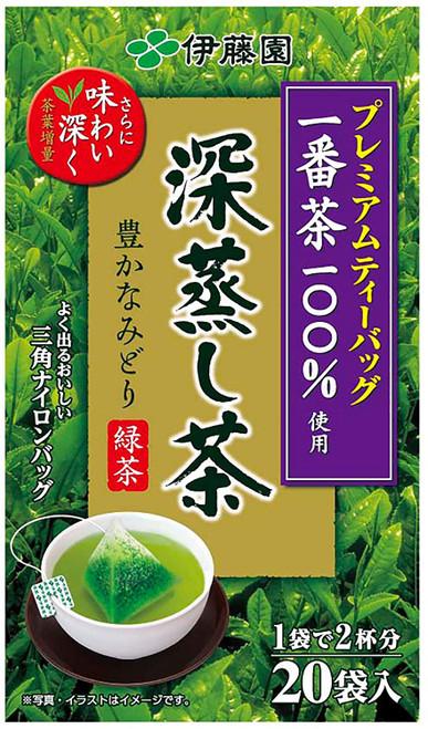 Ito En Itoen Premium Tea Bag Deep Steamed Sencha 20 Tea Bags