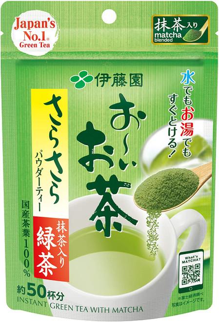 Ito En Itoen Instant Green Tea with Matcha 50 Servings 40g