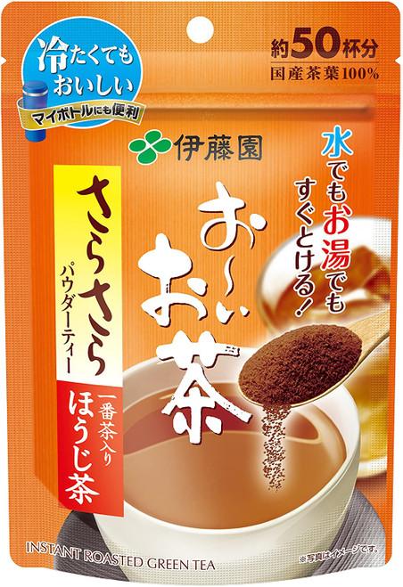 Ito En Itoen Ooi Tea Smooth Instant Roasted Green Hojicha Tea 40g
