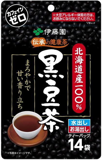 Ito En Itoen Traditional Healthy Hokkaido Black Bean Tea 7.5g x 14 Tea Bags