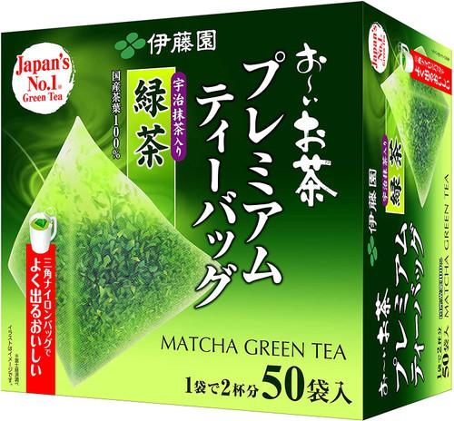 Ito En Itoen Premium Green Tea with Uji Matcha 1.8g x 50 Tea Bags