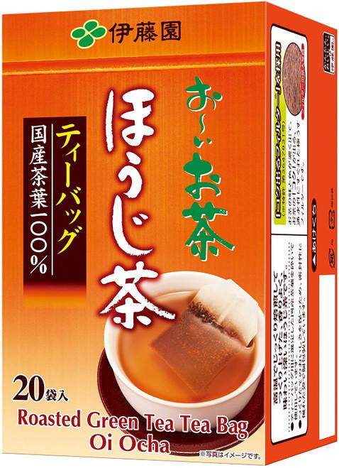 Ito En Itoen Oi Ocha Roasted Green Tea Hojicha 20 Tea Bags