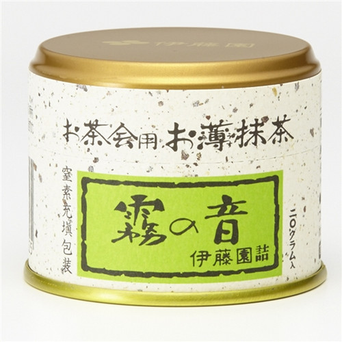 Ito En Itoen The Sound of Fog Usucha Ceremonial Grade Matcha 20g