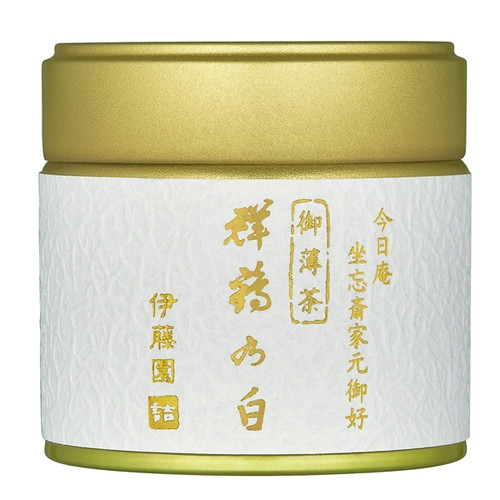 Ito En Itoen Group Cranes White Usucha Ceremonial Grade Matcha 30g