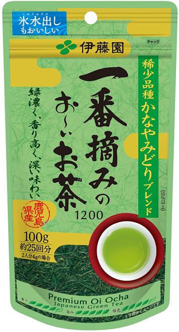 Ito En Itoen Ichiban Picked Premium Oi Ocha Japanese Green Tea 1200 Kanaya Midori 100g