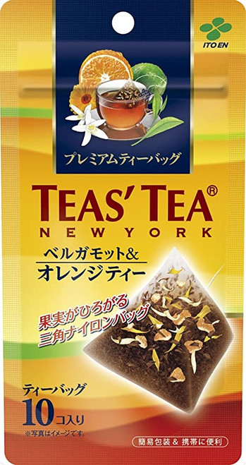 Ito En Itoen Premium TEAS'TEA New York Bergamot & Orange Tea 2g x 10 Tea Bags
