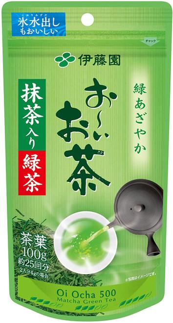 Ito En Itoen Oio Cha Sencha Green Tea with Matcha 100g