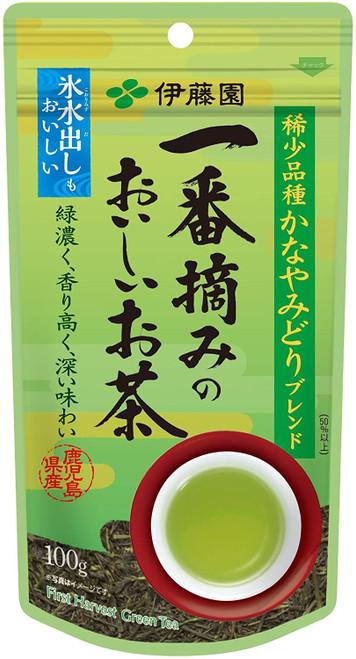 Ito En Itoen Ichiban Picked Delicious First Harvest Tea Kanaya Midori Blend 100g