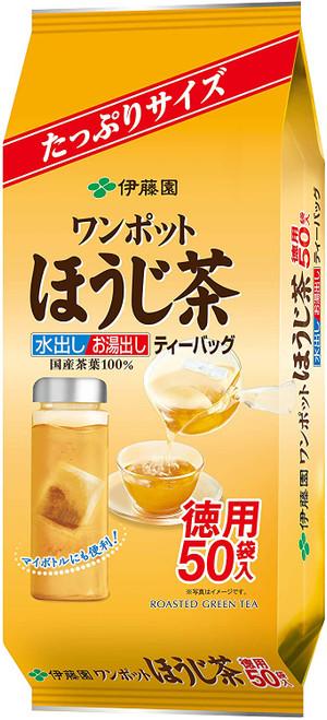 Ito En Itoen One Pot Hojicha Roasted Green Tea 3.5g x 50 Tea Bags