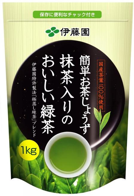 Ito En Itoen Easy Tea Jozu Green Tea with Matcha 1kg