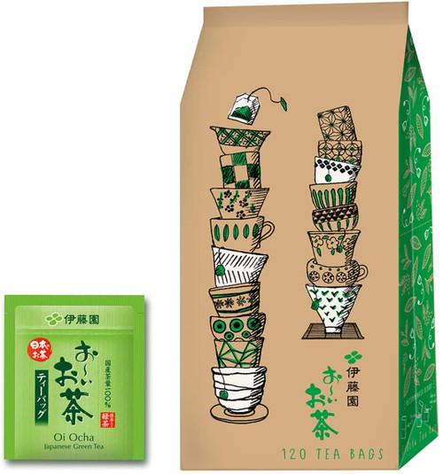 Ito En Itoen Oi Cha Japanese Green Tea With Matcha 1.8g x 120 Tea Bags