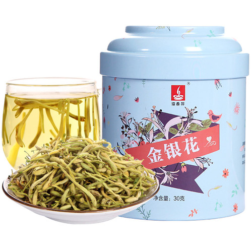 YIXIANGCHUN Brand Jin Yin Hua Honeysuckle Flower Herbal Tea 30g