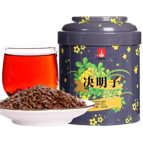 YIXIANGCHUN Brand Jue Ming Zi Cassia Seeds Chinese Herbal Tea 200g