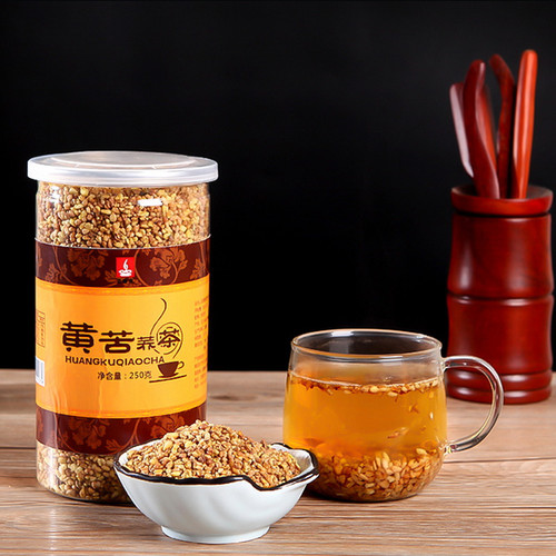YIXIANGCHUN Brand Yellow Tartary Buckwheat Tea All Natural Sobacha 250g
