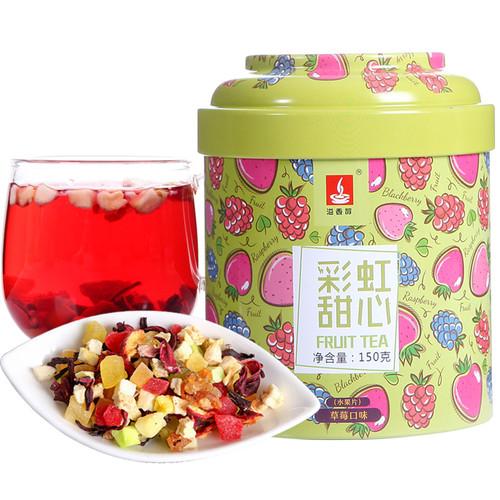 YIXIANGCHUN Brand Rainbow Sweetheart Mixed Fuits Loose Herbal Tea 150g