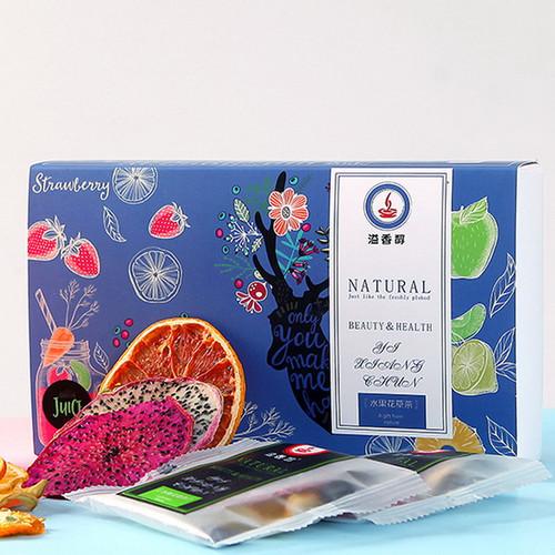 YIXIANGCHUN Brand 10 Flavors Mixed Fuits Loose Herbal Tea 120g*2