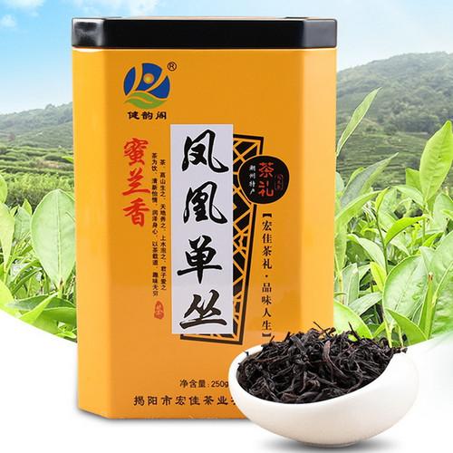 JIANYUNGE Brand Wu Dong Mi Lan Xiang Yun Xiang Phoenix Dan Cong Oolong Tea 250g
