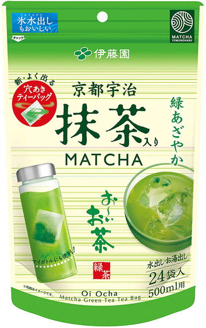 Ito En Itoen Kyoto Uji Matcha with Oi Tea 24 Tea Bags