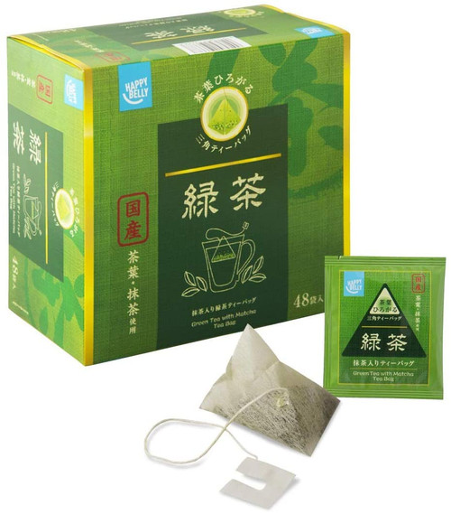 Ito En Itoen Happy Belly Itoen green With Domestic Uji Matcha 48 Tea Bags