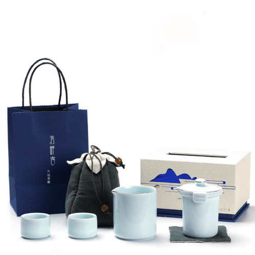 Creative Ceramic Kungfu Tea Teapot And Teacup Set