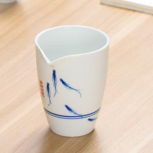 Wen Que Porcelain Fair Cup Of Tea Serving Pitcher Creamer 200ml