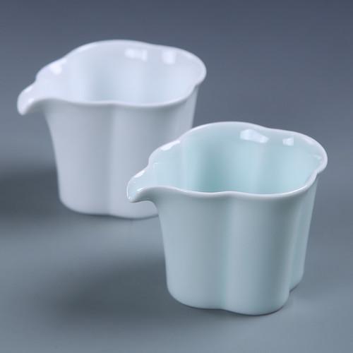 Begonia Porcelain Fair Cup Of Tea Serving Pitcher Creamer 135ml