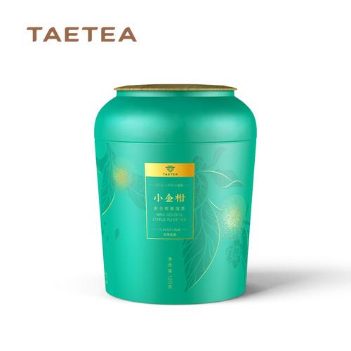 TAETEA Brand Xiao Jin Gan Chenpi Orange Pu'er Yunnan Pu-erh Tea Stuffed Tangerine Ripe 2019 120g