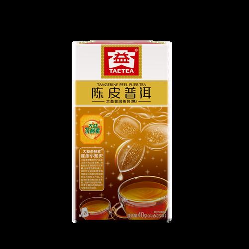 TAETEA Brand Chen Pi Pu-erh Tea Tea Bag 2019 40g Ripe