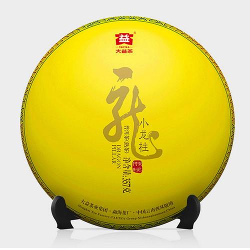 TAETEA Brand Xiao Long Zhu Pu-erh Tea Cake 2018 357g Ripe