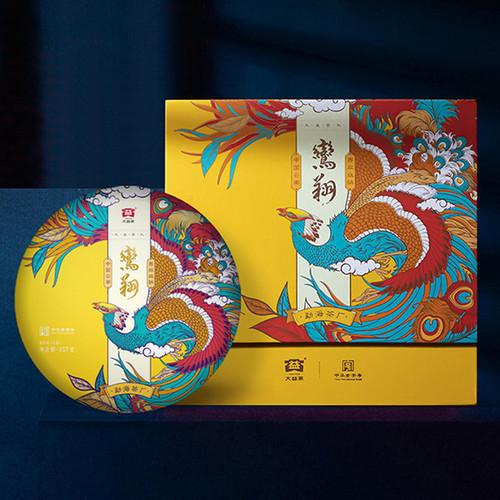 TAETEA Brand Luan Xiang Pu-erh Tea Cake 2020 357g Raw