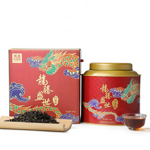 MAOSHENG Brand Long Teng Sheng Shi 1st Grade Liu Bao Hei Cha Dark Tea Loose 2016 500g