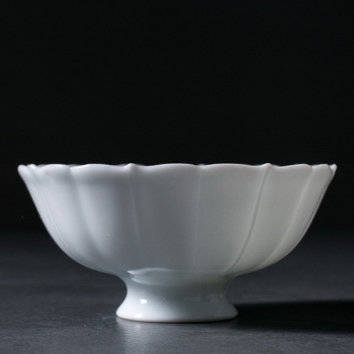 Jade Porcelain Kuikou Porcelain Gongfu Tea Tasting Teacup 48ml