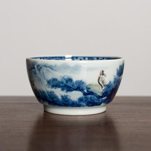 Song Feng He Yun Ceramic Teacup 100ml