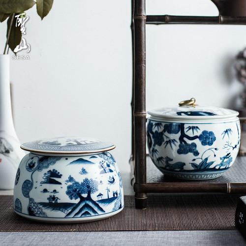 Wu Liang Da Pu Ceramic Food Container Tea Caddy