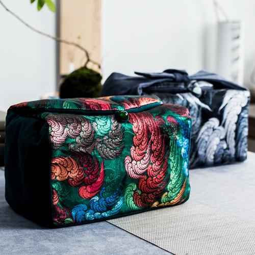 Feng Yu Yun Wen Travel Storage Bag Soft Case for Kung Fu Tea Set 3 Piece Set 240x145x150mm