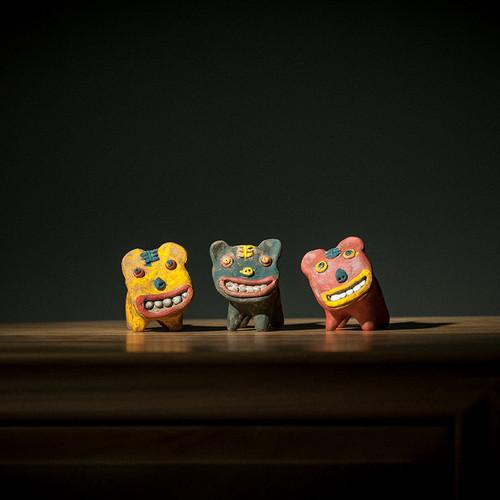 Little Tiger Ceramic Tea Pet Table Decoration Ornament