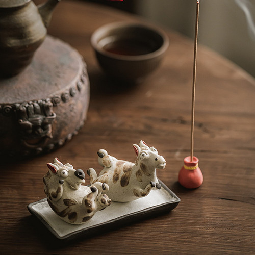 Little Pegasus Ceramic Tea Pet Table Decoration Ornament