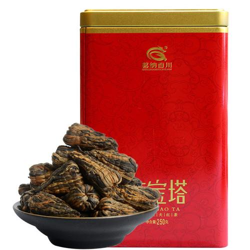 MINGNABAICHUAN Brand Great Pagoda Dian Hong Yunnan Black Tea 250g