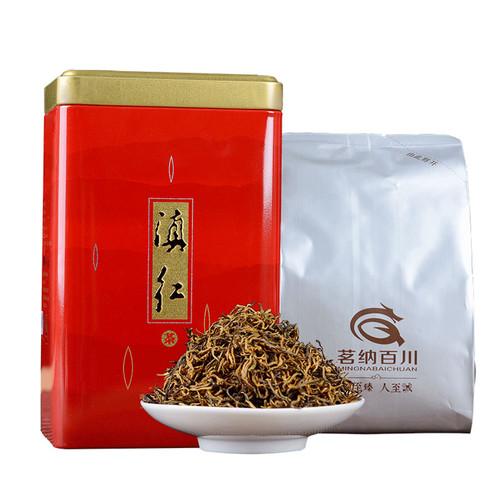 MINGNABAICHUAN Brand Xiao Jin Si Dian Hong Yunnan Black Tea 250g