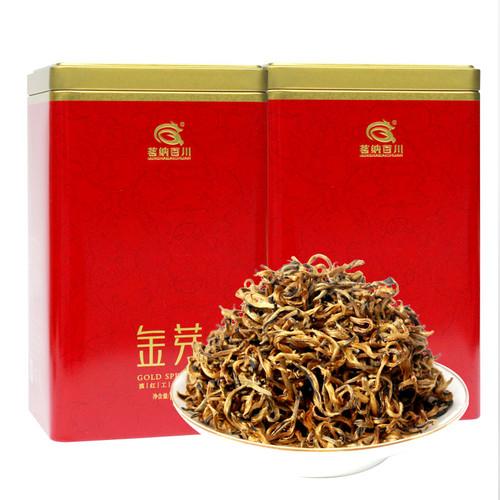 MINGNABAICHUAN Brand Mi Xiang Huang Jin Ya Dian Hong Yunnan Black Tea 125g*2