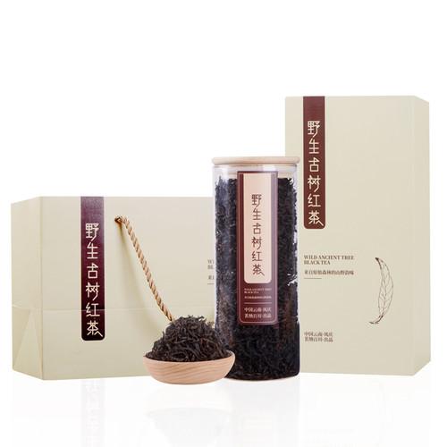 MINGNABAICHUAN Brand Wild Ancient Tree Dian Hong Yunnan Black Tea 120g