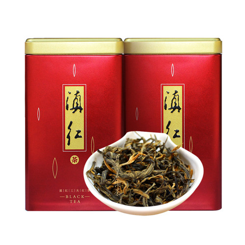 MINGNABAICHUAN Brand Bondong Ancient Tree Dian Hong Yunnan Black Tea 125g*2