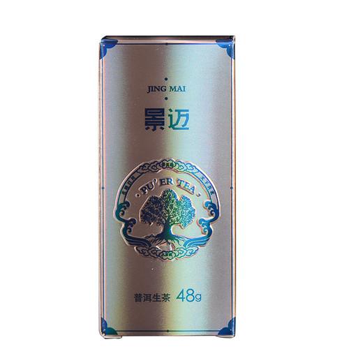 MINGNABAICHUAN Brand Jing Mai Xiao Long Zhu Pu-erh Tea Cylinder 2018 48g Raw